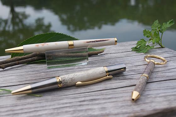 『蝦夷鹿の角 × ボールペン  〜自然を傷つけない自然素材〜 』人の手で作り、人の心に届けるプロジェクト