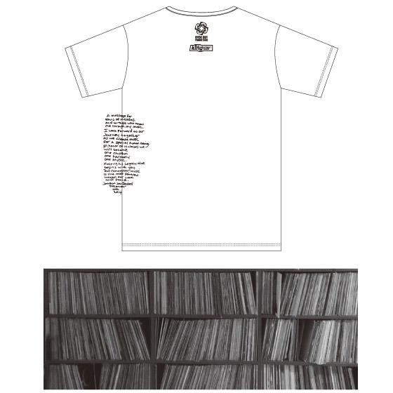 Nujabes リミックスプロジェクト  MIX CD / Bedwin製プロジェクトオフィシャルTシャツをご支援いただいた皆様