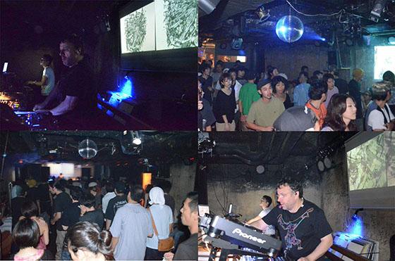 -東日本大震災後、仙台ADDでのTomozoのArtworkとVJ Collaborationについて-
