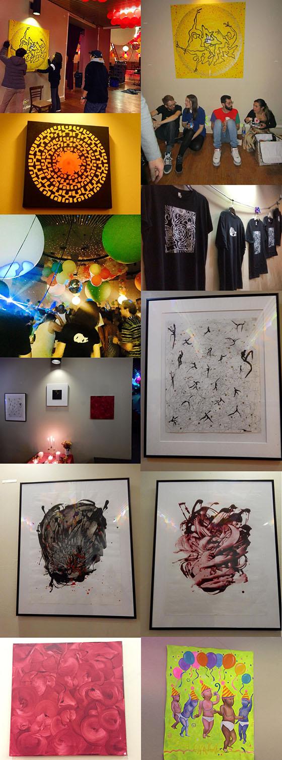 -New York,David MancusoのThe LoftでのArtwork展示-