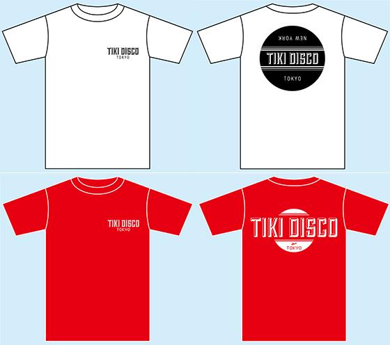 TIKI DISCO IN TOKYO オリジナルTシャツ詳細