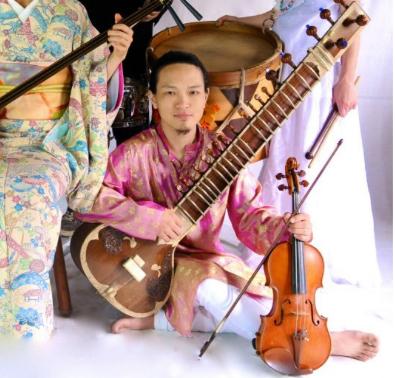 支援コース追加!!GO ARAIによる「ご自宅でシタール生演奏」+「シタール独奏の限定CDRプレゼント」!!